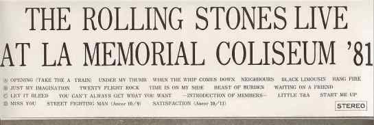 Rolling Stonea ALAMC 81 det