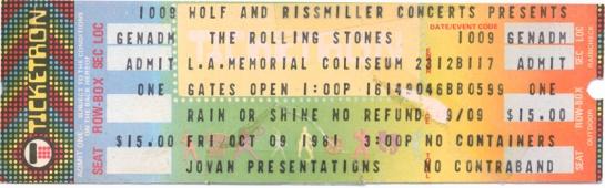 Rolling Stones LA 81 ti