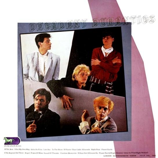 Duran Duran DecDics b