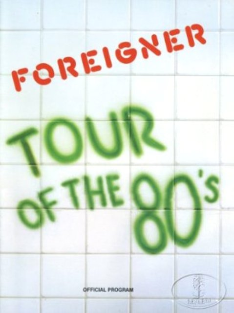 Foreigner Tot80s
