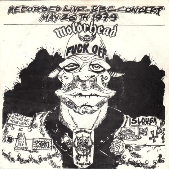Motörhead e.f.ox EP