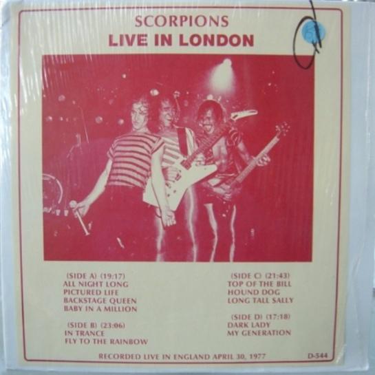 Scorpions Live in London