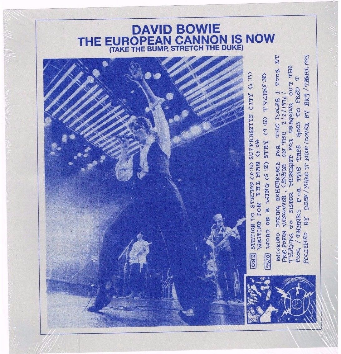 Bowie Euro Cannon