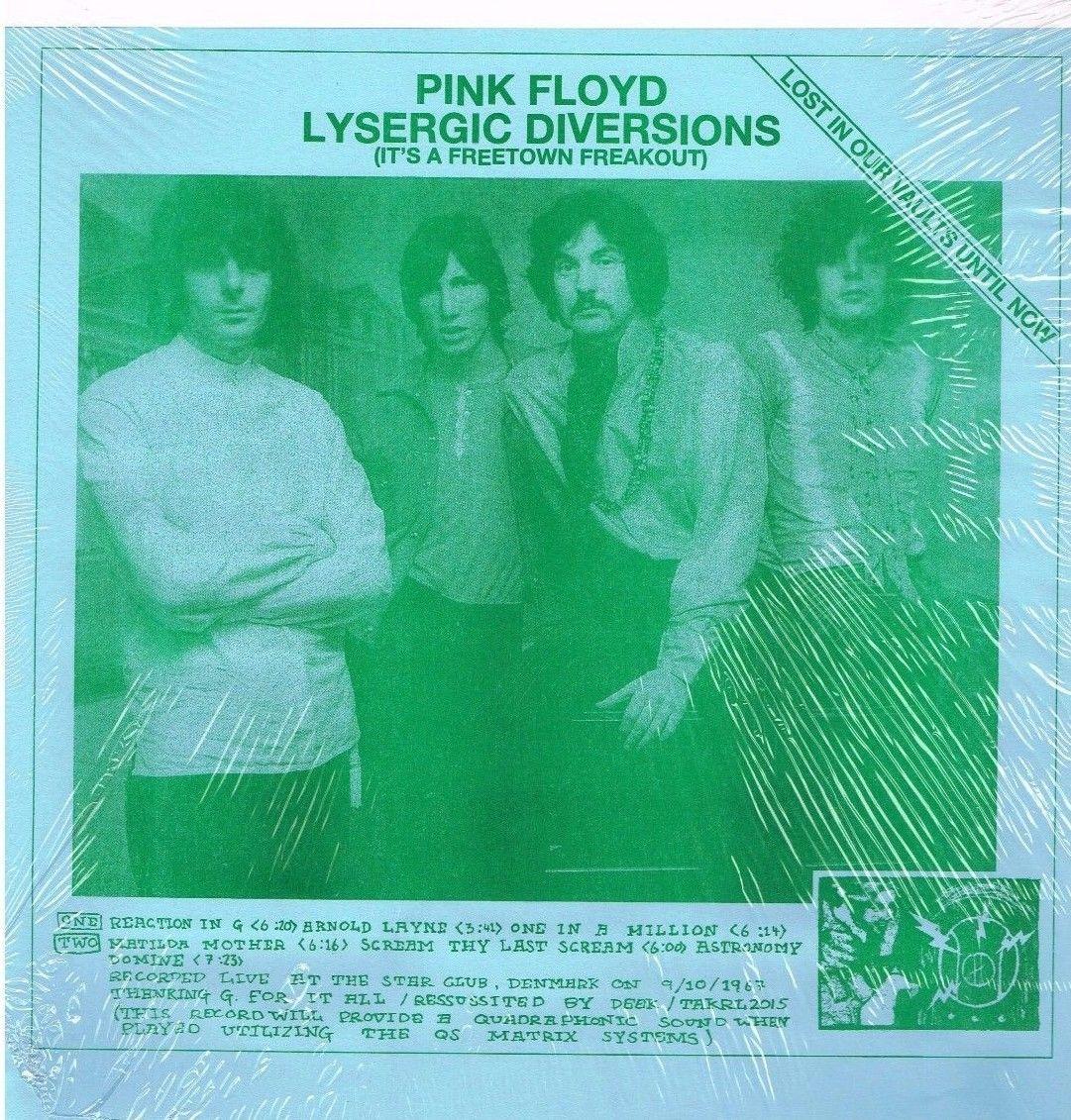 Pink Floyd Lysergic Diversions