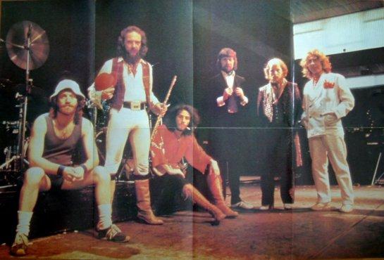 Jethro Tull 79 Tour poster