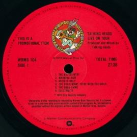 Talking Heads LOT 1