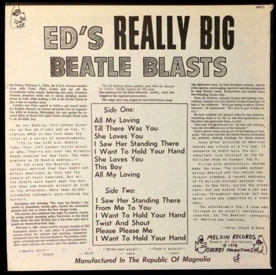 Beatles Ed's Really Big Beatles Blast b