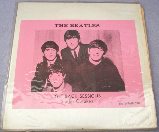 Beatles Get Back Sessions 320 2LP v