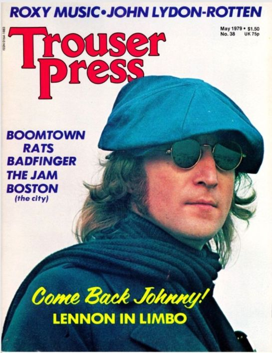 Trouser Press Come back J