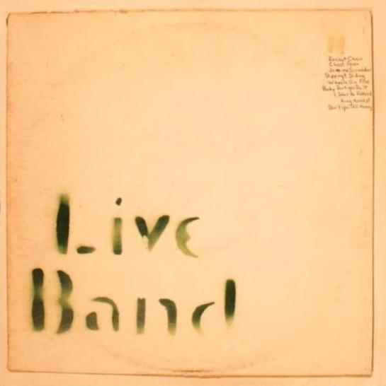 Band Live Band stencil