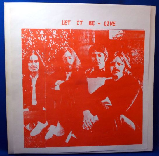 Beatles LIB - LIVE RE red