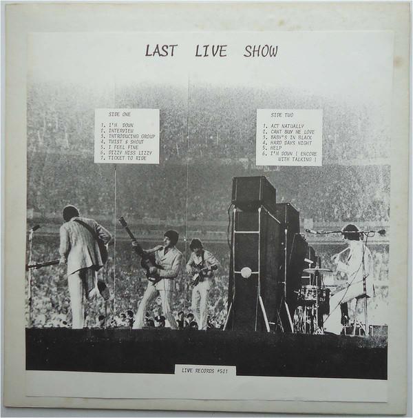 The Beatles Last Live Show A Wcf Original 101 7001