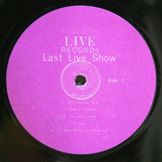 Beatles LLShow 10 lbl