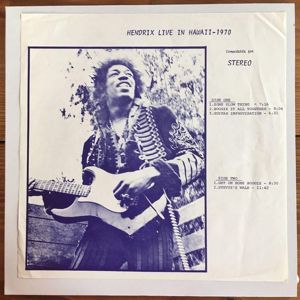Hendrix Live In Hawaii 4