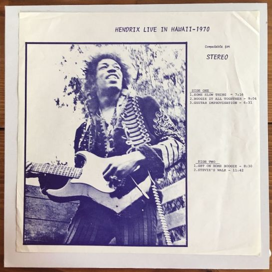 Hendrix Live In Hawaii 4