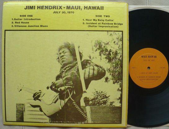 Hendrix Maui, Hawaii orig b