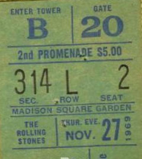 Rolling Stones 1969-11-27