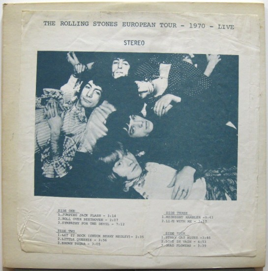 Rolling Stones Euro Tour 1970 Rope