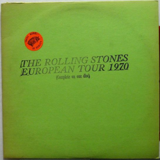 Rolling Stones Europ Tour 1970 red c