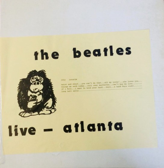 Beatles live - atlanta