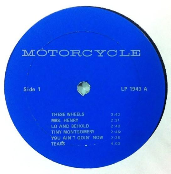 Bob Dylan Motorcycle 1943 lbl 1 alt