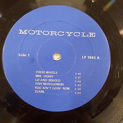 Bob Dylan Motorcycle 1943 lbl 1
