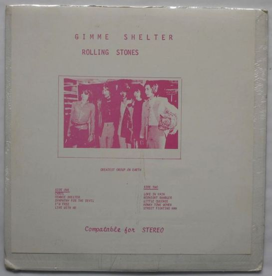 Rolling Stones Gimme Shelter 2