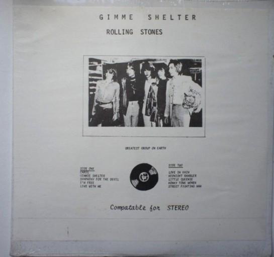 Rolling Stones Gimme Shelter CBM