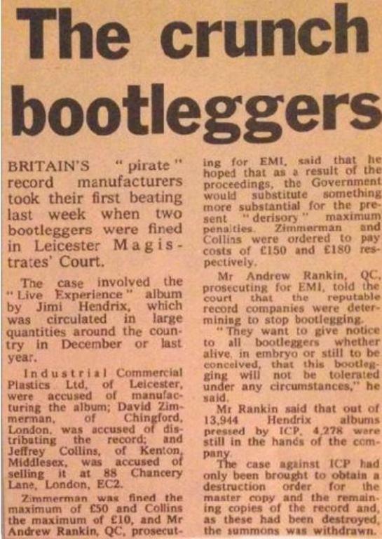 crunch bootleggers