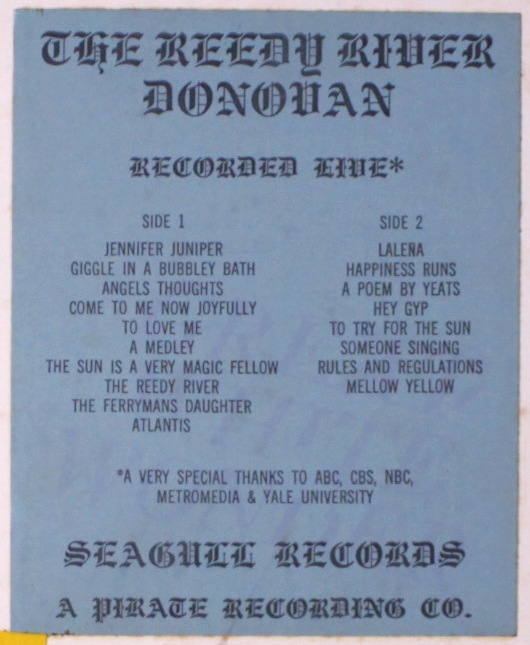 Donovan Reedy River 1st sticker