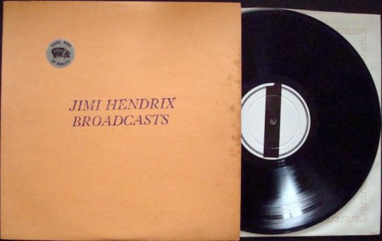 Hendrix Broadcasts purple disc I