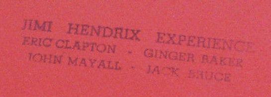 Hendrix Clapton Baker May