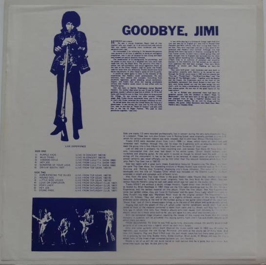 Hendrix Goodbye Jimi blu
