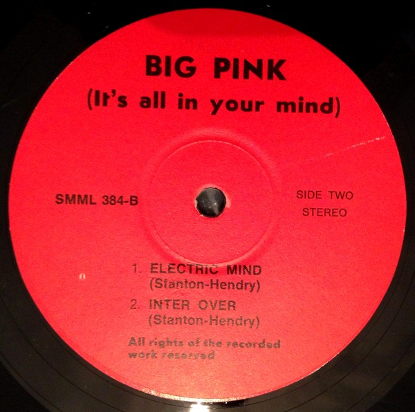 Pink Floyd Big Pink lbl 2