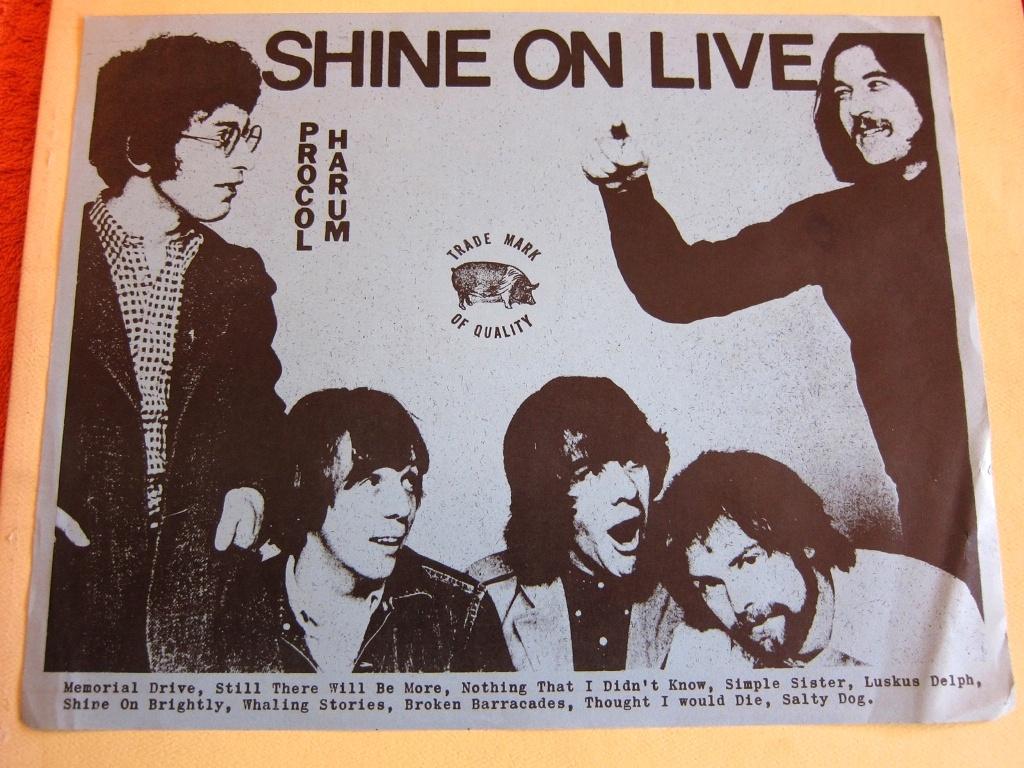 Procol Harum Shine On Live