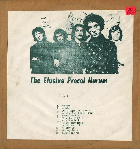 Procol Harum The Elusive 718