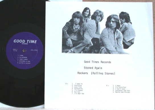 Rolling Stones Stoned Again GT lbl 2