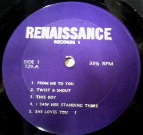 Beatles RM I 729 lbl