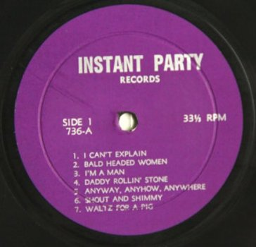 Who Instant Party lbl A