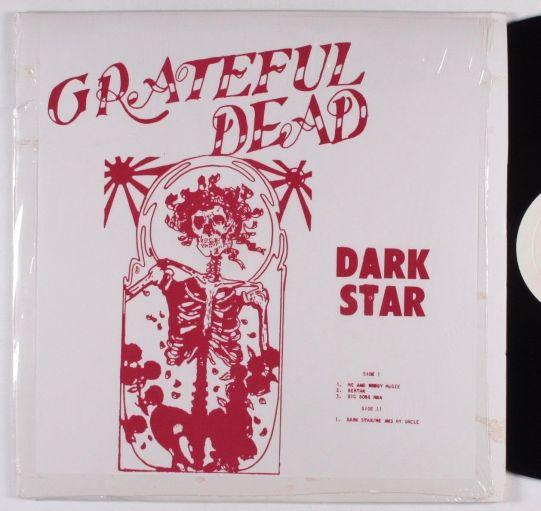 Grateful Dead Dark Star RE red sl