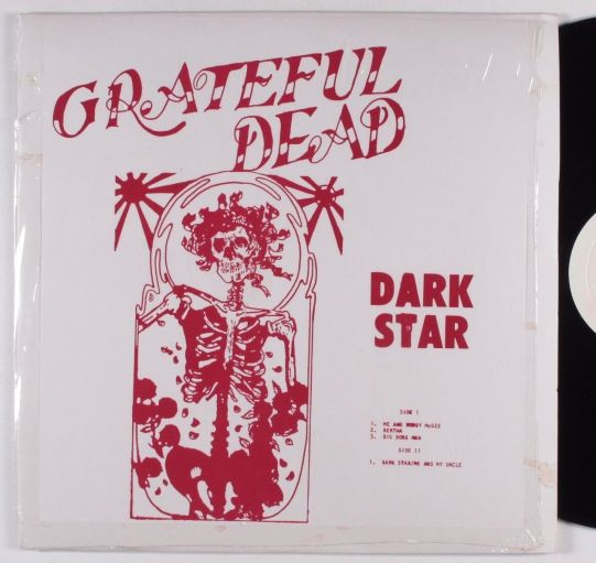 Grateful Dead Dark Star RE red sl