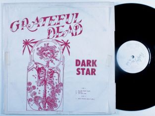 Grateful Dead Dark Star wh lbl