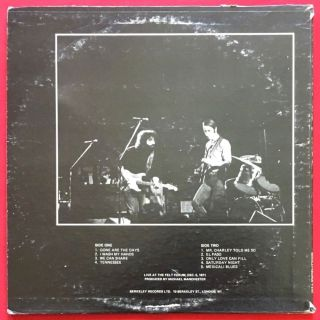 Grateful Dead LIVE b&w b