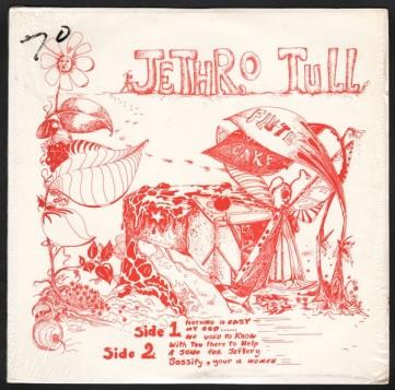 Jethro Tull Flute Cake FC-8888