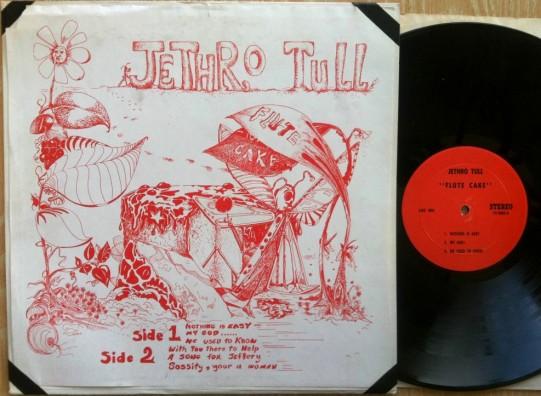 Jethro Tull Flute Cake red lbl