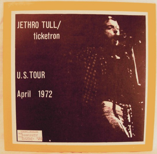Jethro Tull ticketron RE