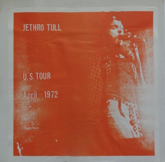 Jethro Tull US Tour April 1972
