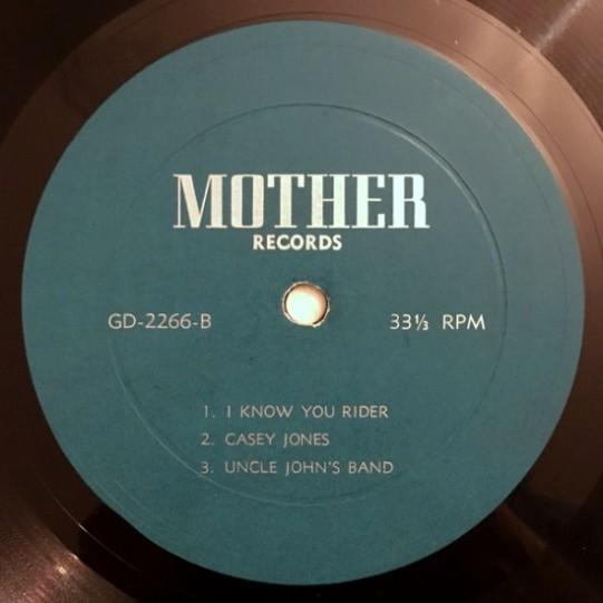 Grateful Dead 2266 lbl-B