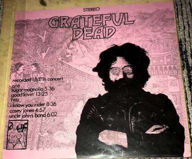 Grateful Dead Live In Concert 1 blu b