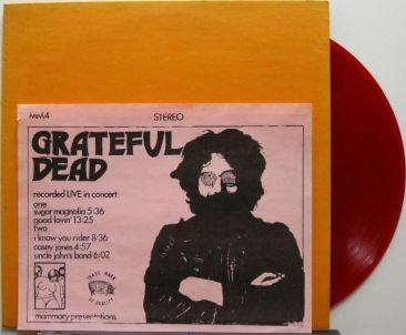 Grateful Dead Live in Concert 2